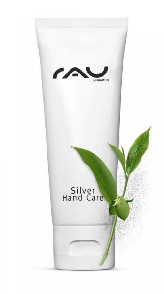 RAU Silver Hand Care 75 ml - unser Topseller für streichelzarte, geschützte Hände - mit Jojobaöl