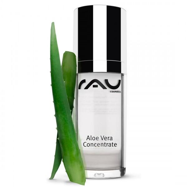 RAU Aloe Vera Concentrate 30 ml - Konzentrat mit Aloe Vera, Küsten-Kamille & Panthenol