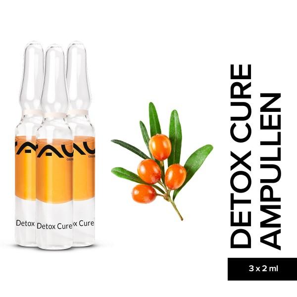 RAU Detox Cure Ampullen 3 x 2 ml Hautpflege Entgiftung Naturkosmetik Onlineshop