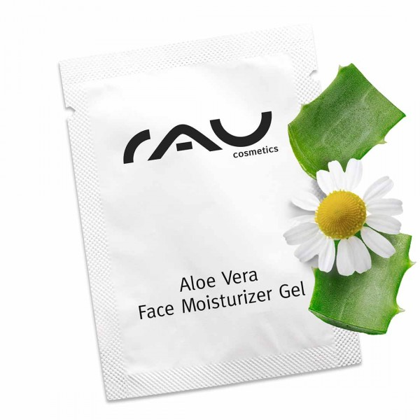 RAU Aloe Vera Face Moisturizer Gel 1,5 ml - Gesichts- & Körpergel mit dem Multitalent Ectoin®