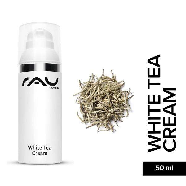 RAU White Tea Cream 50 ml Hautpflege Naturkosmetik Onlineshop Gesichtspflege