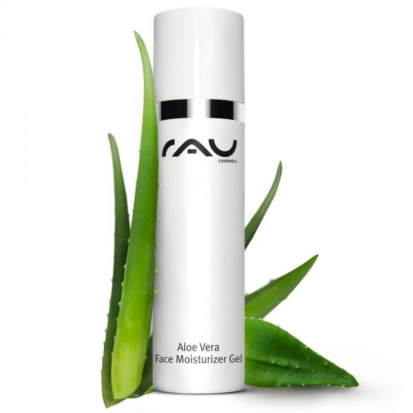 RAU Aloe Vera Face Moisturizer Gel 50 ml - Gesichts- & Körpergel mit dem Multitalent Ectoin®