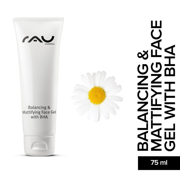 RAU Balancing And Mattifying Face Gel with BHA Gesichtsgel Hautpflege Onlineshop Naturkosmetik