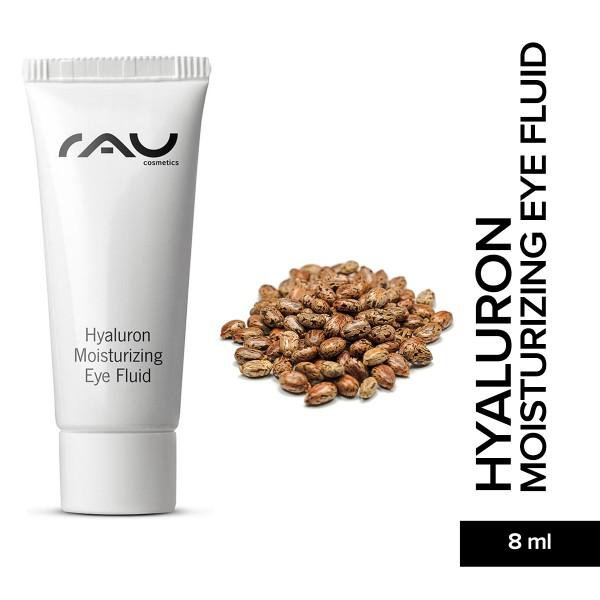 RAU Hyaluron Moisturizing Eye Fluid 8 ml Hautpflege Gesichtspflege Naturkosmetik Onlineshop