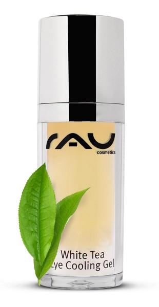 RAU White Tea Eye Cooling Gel 30 ml - zarte Anti-Aging Pflege für die Augenpartie