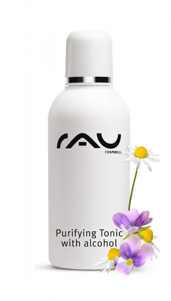 RAU Purifying Tonic with alcohol 75 ml - Entzündungshemmender Spezialtoner gegen unreine Haut-
