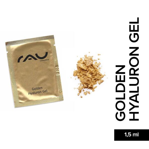 RAU Golden Hyaluron Gel 1,5 ml Hautpflege Gesichtspflege Naturkosmetik Onlineshop