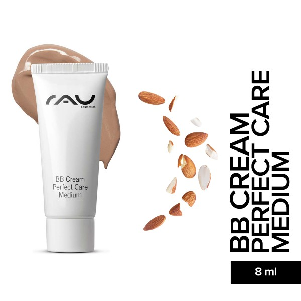 RAU BB Cream Perfect Care Medium 8 ml Hautpflege Gesichtspflege Naturkosmetik Onlineshop