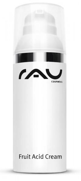 RAU Fruit Acid Cream 50 ml - mit Fruchtsäuren, Hyaluronsäure, Vitaminen & wertvollen Pflanzenölen