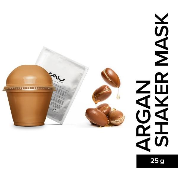 RAU Argan Shaker Mask Peel Off Maske Ghassoul Tonerde Naturkosmetik Onlineshop Hautpflege