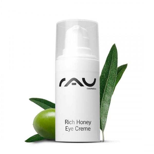 RAU Rich Honey Eye Cream 15 ml - für eine frische und strahlende Augenpartie in jedem Alter!