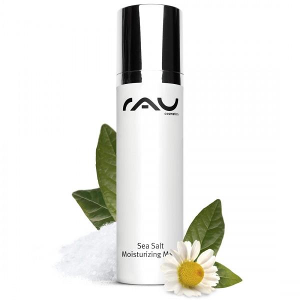RAU Sea Salt Moisturizing Mask 50 ml - angenehme Gesichtsmaske mit wertvollem Meersalz und PHA