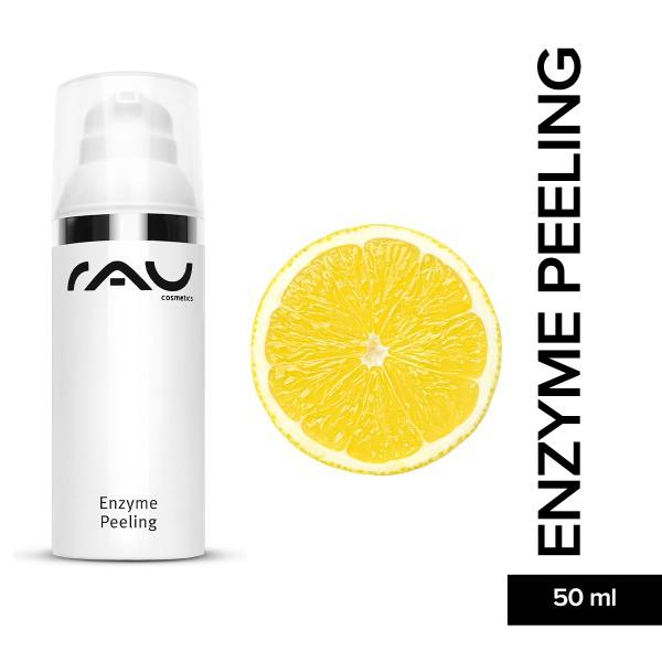 RAU Enzyme Peeling 50 ml Hautpflege Tiefenreinigung Naturkosmetik Onlineshop