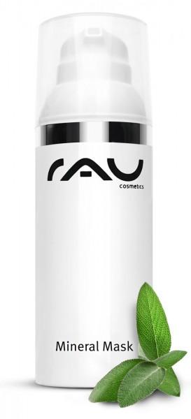 RAU Mineral Mask 50 ml - Mattierende Gesichtsmaske mit Zink und Heilkreide für unreine Haut