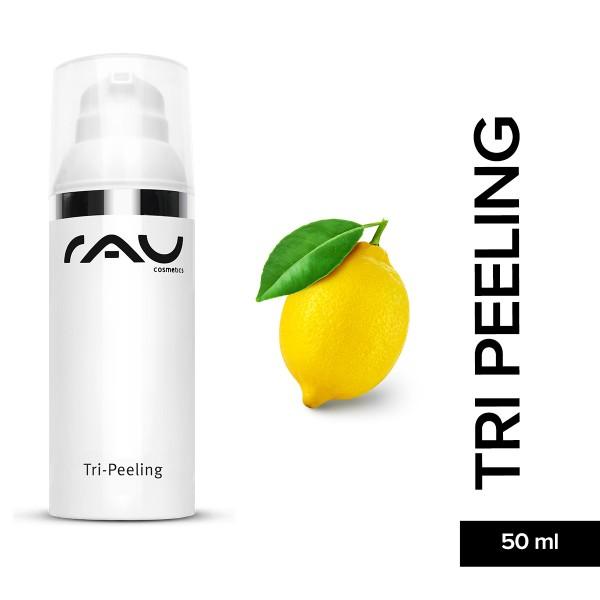 RAU Tri Peeling 50 ml Enzympeeling Fruchsäurepeeling Hautpflege Gesichtspflege Naturkosmetik