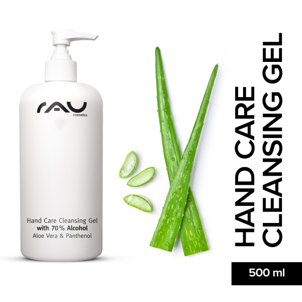 RAU Hand Care Cleansing Gel Desinfektion Handpflege Hautpflege Onlineshop Naturkosmetik