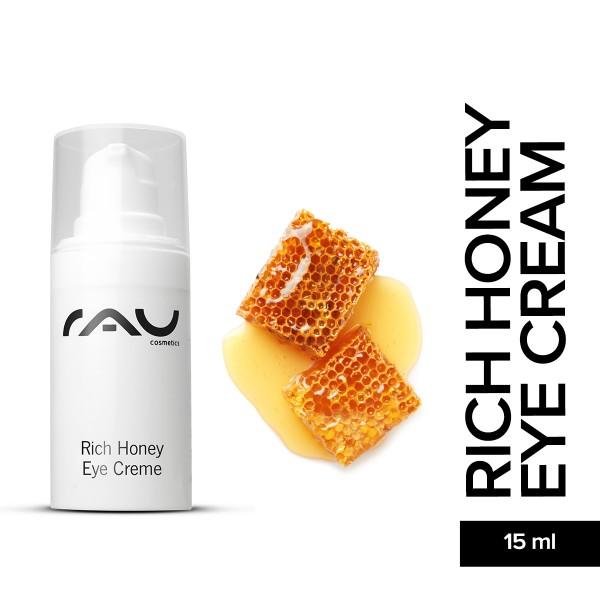 RAU Rich Honey Eye Cream 15 ml Augenpflege Hautpflege Gesichtspflege Onlineshop Naturkosmetik