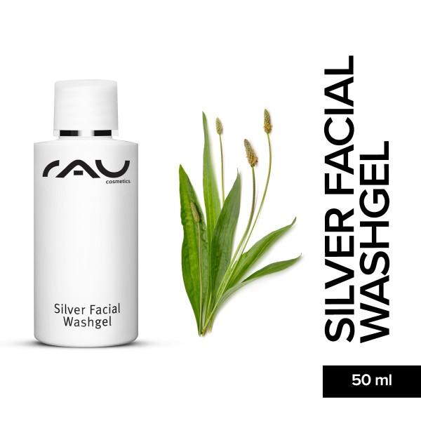 RAU Silver Facial Washgel 50 ml Hautpflege Gesichtspflege Naturkosmetik Onlineshop