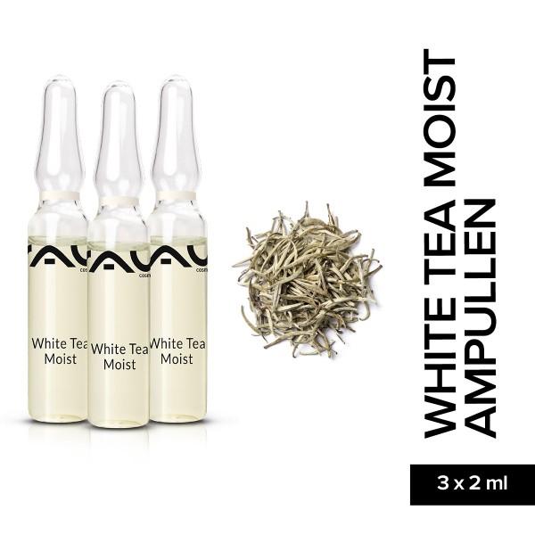 RAU White Tea Moist Ampullen 3 x 2 ml Hautpflege Naturkosmetik Onlineshop Gesichtspflege