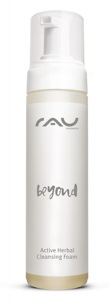 RAU beyond Active Herbal Cleansing Foam 200 ml - mild schäumender Naturkosmetik Gesichtsreiniger