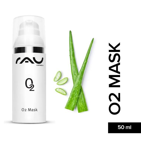 RAU O2 Mask 50 ml Aloe Vera Gesichtsmaske Hautpflege Gesichtspflege Naturkosmetik Onlineshop