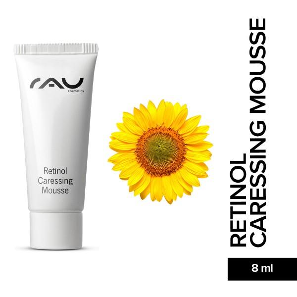 RAU Retinol Caressing Mousse 8 ml Hautpflege Gesichtspflege Naturkosmetik Onlineshop