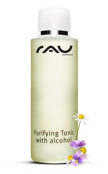 RAU Purifying Tonic with alcohol 200 ml - entzündungshemmender Spezialtoner gegen unreine und fette