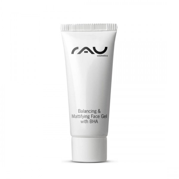 RAU Balancing & Mattifying Face Gel with BHA 8 ml - regulierendes, porenreinigendes Gesichtsgel