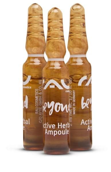 RAU beyond Active Herbal Ampoule 3x2 ml - feuchtigkeitsspendendes Kräuterkonzentrat