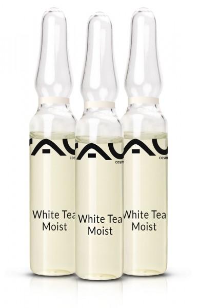 RAU White Tea Moist Ampullen 3 x 2 ml - Poren verfeinerndes und Falten verminderndes Konzentrat