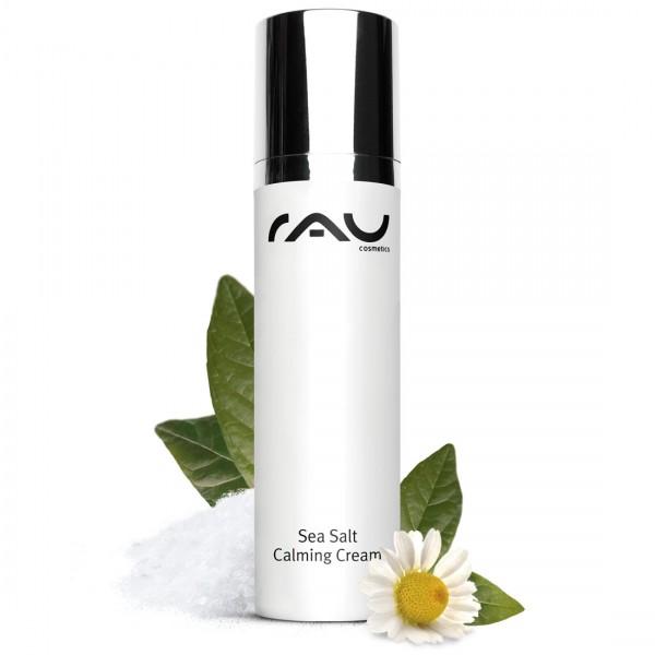 RAU Sea Salt Calming Cream 50 ml - angenehme Gesichtscreme mit wertvollem Meersalz und PHA