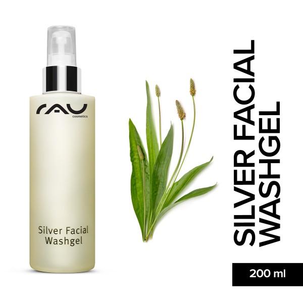 RAU Silver Facial Washgel 200 ml Gesichtsreinigung Hautpflege Onlineshop Naturkosmetik