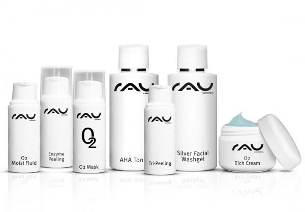 RAU Cosmetics Schnupper-Set - O2 Serie - Pröbchenmix zum reinschnuppern